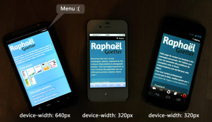Les mobiles nous mentent ! | Web mobile - UI Design - Html5-CSS3 | Scoop.it