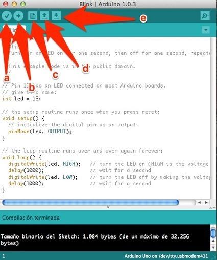 Lección 2 - Arduino - Introducción al lenguaje de programación de Arduino | InternetdelasCosas | Scoop.it