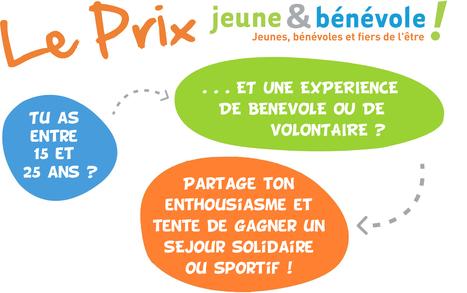 Cet été, participez au Prix Jeune et Bénévole 2014   Jeunes et Bénévoles   Scoop.it