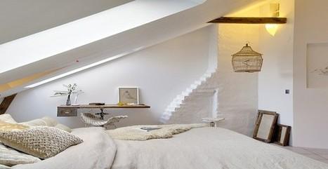 Chambre blanc et gris ou blanc et beige, un dilemme ? | Immobilier | Scoop.it