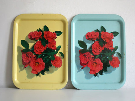Four Rose Trays | Antiques & Vintage Collectibles | Scoop.it