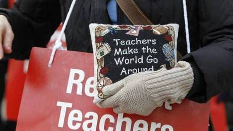 Ontario teachers to receive three-quarters of pay in case of strike | Teaching and Learning of Mathematics | Scoop.it