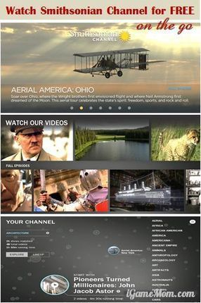 Free App: Watch Educational Shows on Smithsonian Channel for FREE | Aprendiendo a Distancia | Scoop.it