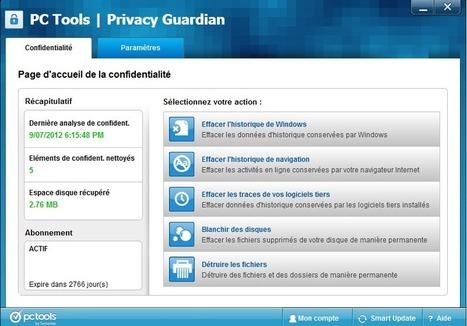 Logiciel commercial gratuit PC Tools Privacy Guardian Fr 2013 Licence gratuite giveaway - Actualités du Gratuit | diogo woula | Scoop.it