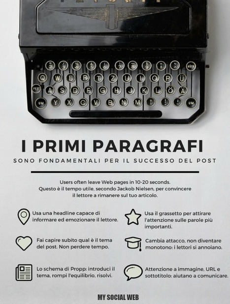 [Infografica] Come attirare l'attenzione del lettore | marketing personale | Scoop.it
