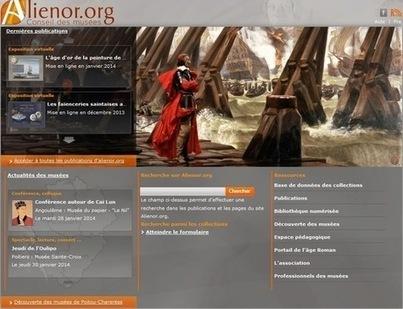 Alienor.org fait rayonner les musées de Poitou-Charentes   La-Croix.com   MUSÉO, ARTS ET SPECTACLES   Scoop.it
