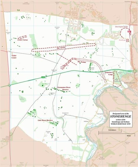 Mapa interactivo del sitio arqueológico de Stonehenge | Humanidades digitales | Scoop.it