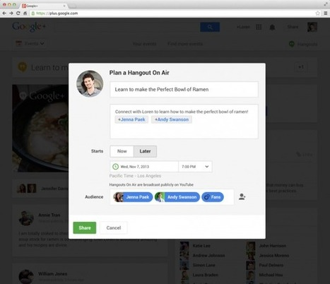 Google+ : Hangouts se met à jour | #VeilleDuJour | Scoop.it