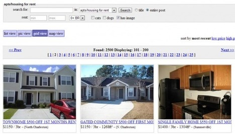 Craigslist launches Pinterest-style grid view for visual browsing | Digital Trends | Everything Pinterest | Scoop.it