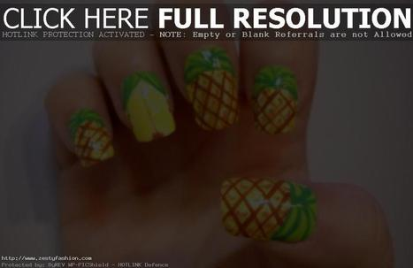 Grab Ideas of Fruit Nail Art Designs - Zesty Fashion | nail art | Scoop.it