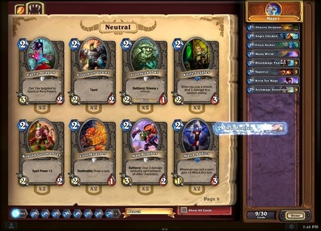 Hearthstone comes into Open Beta finally! | Web Game 360 | Scoop.it