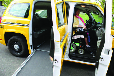 Yellow Cab debuts city's first wheelchair accessible vehicles | Accessible Travel | Scoop.it