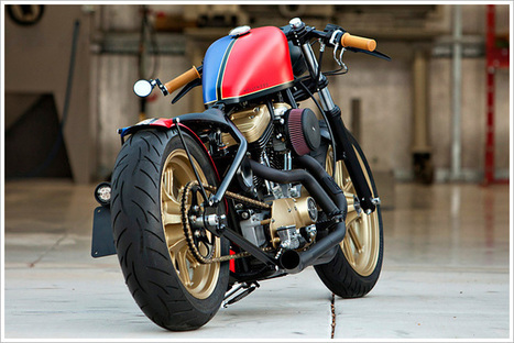 '03 Harley Sportster - DP Customs | adventure | Scoop.it