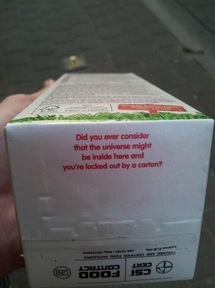 Un messaggio inatteso.... | Packaging | Scoop.it