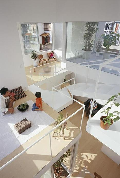 A small house that maximizes family time | Tetsuo Kondo Architects | Idées d'Architecture | Scoop.it
