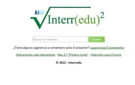 Interredu, un buscador de recursos educativos en español | tecnología y aprendizaje | Scoop.it