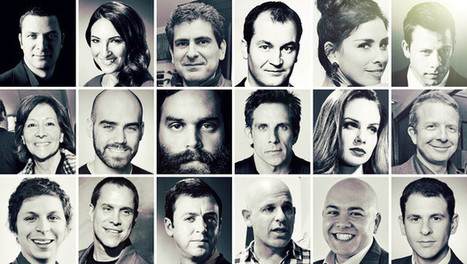 27 Leading Characters In Hollywood's Big Digital Play   What's new in Visual Communication?   Scoop.it