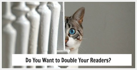 How to Double Your Readers with This Significant Strategy | The Funnily Enough | Scoop.it