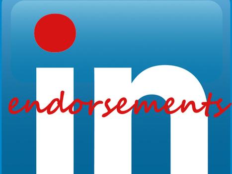 LinkedIn Endorsements: Love 'em or Hate 'em? | MoreMarketing | Scoop.it