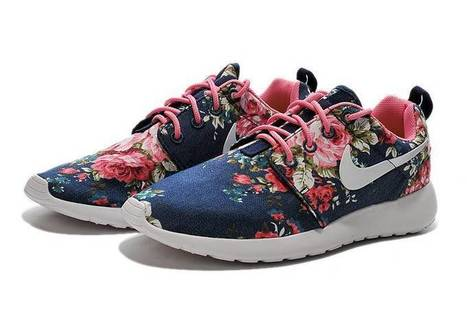 Newest Nike Roshe Run One Print Women Blue White Flowers Shoes Free Shipping - $65.00 | Beats By Dre - Cheap Monster Beats By Dre Outlet Sale | Scoop.it