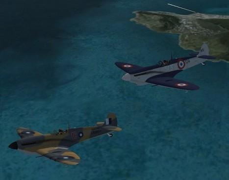 FS2004 FSX Seafire Mk III - Flight Simulator 2004 Flight Simulator X Seafire Mk III | Fan d'aviation | Scoop.it