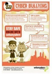 Safeguarding: FREE Cyber Bullying Info-Poster! | Digital Citizenship in Schools | Scoop.it