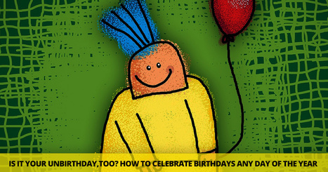 Is It Your Unbirthday,Too? How To Celebrate Birthdays Any Day Of The Year (Print and Go Lesson)   Fancy English   Scoop.it