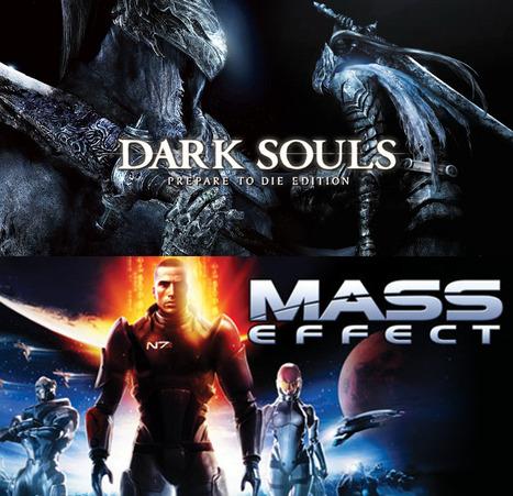 La convergencia ludo-narratológica en el diseño de videojuegos de rol: las mecánica jugables de Dark Souls contra el diagrama de flujo de Mass Effect / por Borja Vaz | Comunicación en la era digital | Scoop.it
