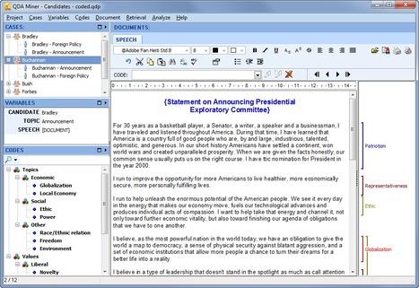 QDA Miner Lite - Free Qualitative Data Analysis Software | Educational Technology | Scoop.it
