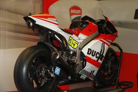 New engine and fairings for GP14 | Ducati news | Scoop.it