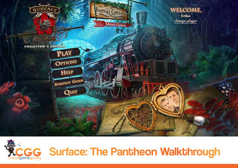 Surface: The Pantheon Walkthrough: From CasualGameGuides.com | Casual Game Walkthroughs | Scoop.it