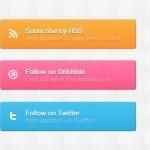 Freebies: botones gratis en PSD para tu sitio web | irving_1425 | Scoop.it