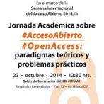 Jornada Académica sobre Acceso Abierto: paradigmas teóricos y problemas prácticos | SEDICI | Acceso abierto | Scoop.it