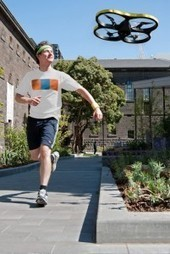 Joggobot, The Companion Drone That Makes You Run Faster, Longer, Harder - Forbes | Rise of the Drones | Scoop.it
