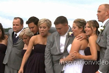US wedding party takes the plunge | 9News | Florida Wedding & Photography Tips, Ideas, Inspiration & Comic Relief | Scoop.it