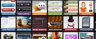 14 Sitios para descargar ficheros PSD gratis de calidad para diseño web | irving_1425 | Scoop.it