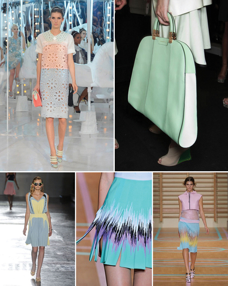 Pastel Colors for Spring 2012 | The Style Umbrella- fashionblast | Fashion Blast: Topshop, Prada, Louis Vuitton and Other Successes in the Fashion World | Scoop.it