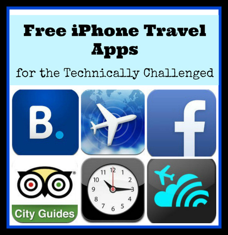 12 Free iPhone Travel Apps for the Technically Challenged : Townsville Holidays | Location Is Everywhere | Scoop.it