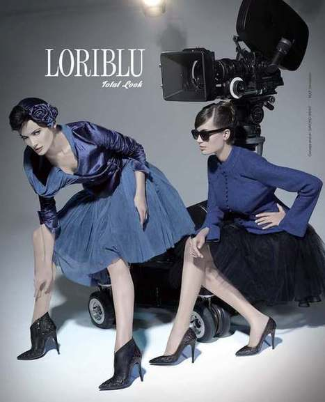 Loriblu   The advertising campaign fall winter 2013-2014: The Movie   Le Marche & Fashion   Scoop.it