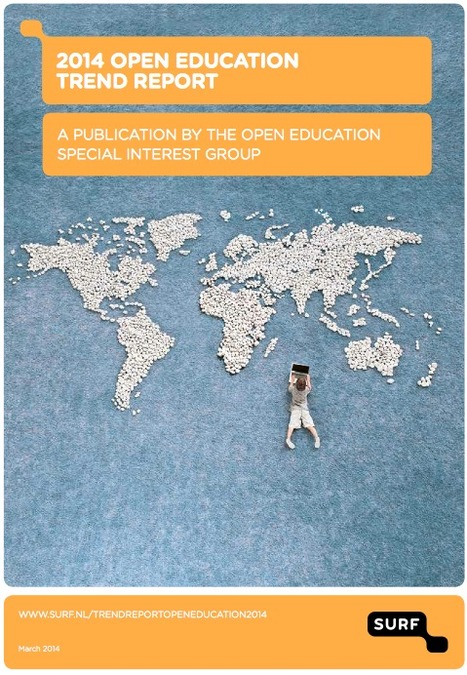 Trend Report: open and online education furthers quality and flexibility | Nicolai van der Woert, Ria Jacobi & Hester Jelgerhuis , Surf | D.I.P. Digital in Progress | Scoop.it