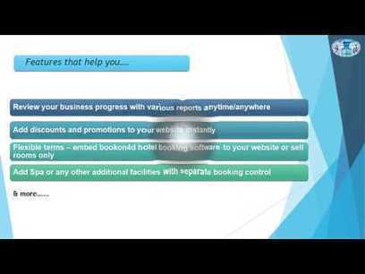 Bookon4d-Our Hotel Booking Software - YouTube | MOT Horley and MOT Reigate | Scoop.it