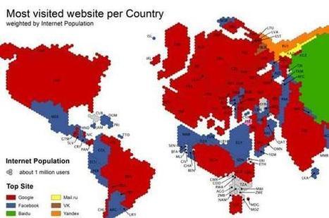 La carte qui va révolutionner votre façon de voir le monde Internet | Technologie Au Quotidien | Scoop.it