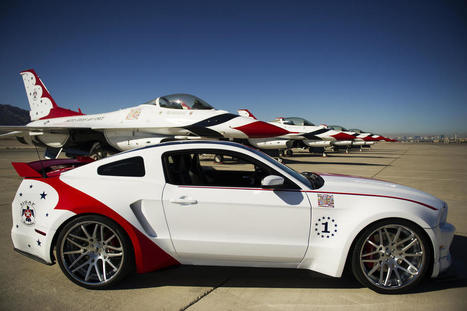 Top Supercar Models: Ford Mustang U.S. Air Force Thunderbirds Edition 2014 | Best Supercars | Scoop.it