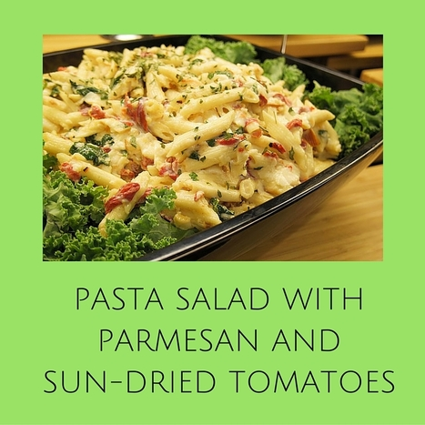 Easy Pasta Salad with Parmesan Cheese | Best Easy Recipes | Scoop.it