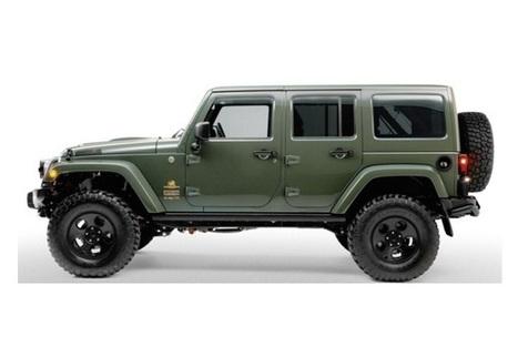 Cum arata noul  Filson x AEV Jeep Wrangler ? | Auto fans | Scoop.it