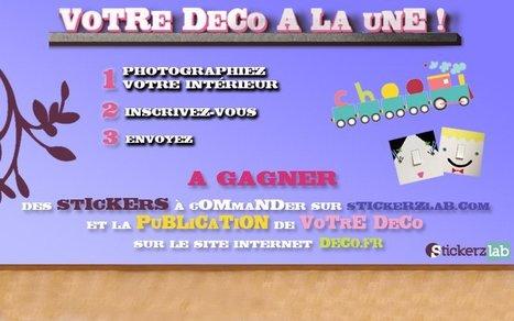 500€ de stickers à gagner en partageant vos photos déco ! | Stickerzlab, des astuces et des idées déco pour tous | décoration & déco | Scoop.it