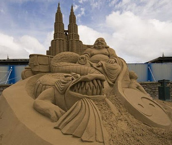 Top 20 Sand Sculpture Arts Wallpapers | Free HD Desktop Wallpapers Download Online | Funny Pic And Wallpapers | Scoop.it