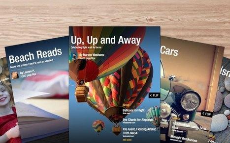 Flipboard: sélectionnez vos vidéos, photos et articles favoris, créez un magazine et partagez-le | Quatrième lieu | Scoop.it