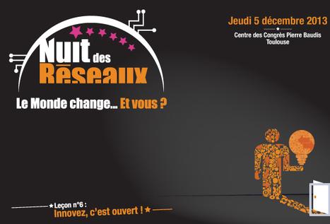 La Nuit des Réseaux - 5 décembre 2013 - Pierre Baudis, Toulouse   Actualité des réseaux d'Aquitaine   Scoop.it
