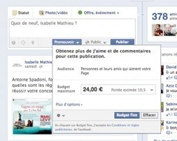 Les Publications Promues de Facebook Evoluent | Emarketinglicious | Commerces | Scoop.it
